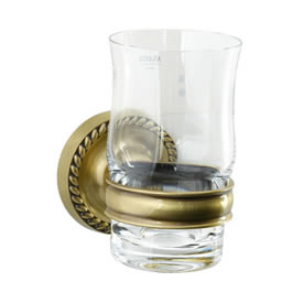 Cifial 456.760.509 - Cystal tumbler with holder