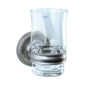Cifial 456.760.620 - Cystal tumbler with holder