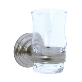 Cifial 477.760.620 - Crystal tumbler with holder