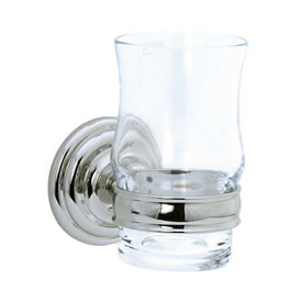 Cifial 477.760.721 - Crystal tumbler with holder