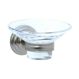 Cifial 477.865.620 - Soap holder with dish