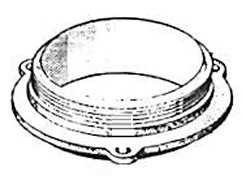 American Standard Curtin #50 - 13-50 Flanged Base