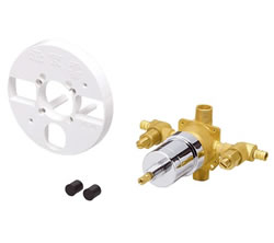 Danze D112010BT - Single Handle PEX 1/2, Pressure Balance tub/Shower Valve, round spline, with stops, ceramic
