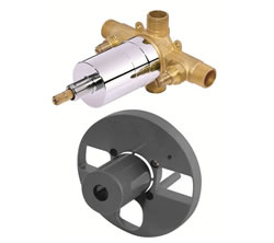 Danze D112500BT - Single Handle Pressure Balance valve, washerless, with stops, Copper/IPS connections