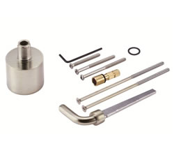 Danze D113001BN - Pressure Balance Mixing Extension Kit with Diverter (D112, D113, D115) - Tumbled Bronzeushed Nickel