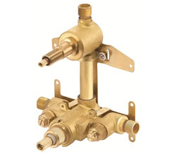 Danze D151000BT - Two Handle Thermostatic Valve with Stops