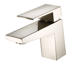 Danze D225562BN - Mid-Town Single Handle Lavatory Faucet , 1 or 3 hole mount, Lever Handle, Touch Down Drain - Tumbled Bronzeushed Nickel