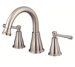 Danze D300915BNT - Eastham Two Handle TRIM, Roman Tub, , no spray widespread valve - Tumbled Bronzeushed Nickel