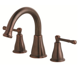Danze D300915BRT - Eastham Two Handle TRIM, Roman Tub, , no spray widespread valve - Tumbled Bronze