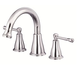 Danze D300915T - Eastham Two Handle TRIM, Roman Tub, , no spray widespread valve - Polished Chrome