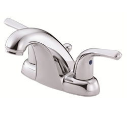 Danze D301012 - Melrose Two Handle Centerset Lever Handle MPU - Polished Chrome