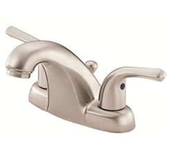 Danze D301012BN - Melrose Two Handle Centerset Lever Handle MPU - Tumbled Bronzeushed Nickel