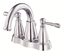 Danze D301015 - Eastham Two Handle Centerset Lavatory Faucet , with 5050 popup drain - Polished Chrome
