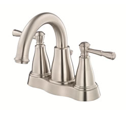 Danze D301015BN - Eastham Two Handle Centerset Lavatory Faucet , with 5050 popup drain - Tumbled Bronzeushed Nickel