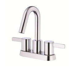 Danze D301030 - Amalfi Two Handle Centerset Lavatory Faucet with touchdown drain - Polished Chrome
