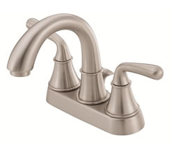 Danze D301056BN - Bannockburn Two Handle Centerset, Lever Handle MPU - Tumbled Bronzeushed Nickel