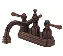 Danze D301057RB - Opulence Two Handle Centerset Lever Handle MPU - Oil Rubbed Bronze