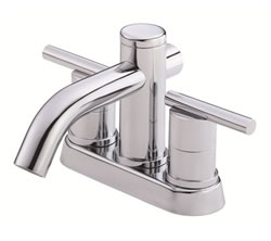 Danze D301058 - Parma Two Handle Centerset Lever Handle MPU - Polished Chrome