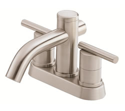 Danze D301058BN - Parma Two Handle Centerset Lever Handle MPU - Tumbled Bronzeushed Nickel