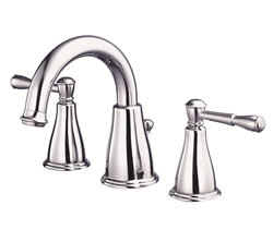 Danze D304015 - Eastham Two Handle Widespread Lavatory Faucet , with 5050 popup drain - Polished Chrome
