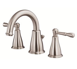 Danze D304015BN - Eastham Two Handle Widespread Lavatory Faucet , with 5050 popup drain - Tumbled Bronzeushed Nickel