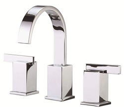 Danze D304044 - Sirius Two Handle Widespread Lever Handle with Touch Down Drain - Polished Chrome