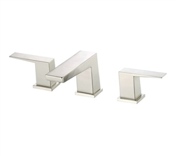 Danze D304062BN - Mid-Town Two Handle Widespread, , Lever Handle, Touch Down Drain - Tumbled Bronzeushed Nickel