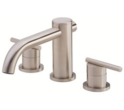 Danze D305658BNT - Parma Two Handle TRIM Roman Tub Lever Handle - Tumbled Bronzeushed Nickel