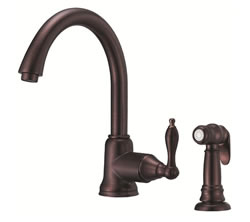 Danze D401540RB - Fairmont Single Handle Kit Side Mount Handle with Spray - Oil Rubbed Bronze