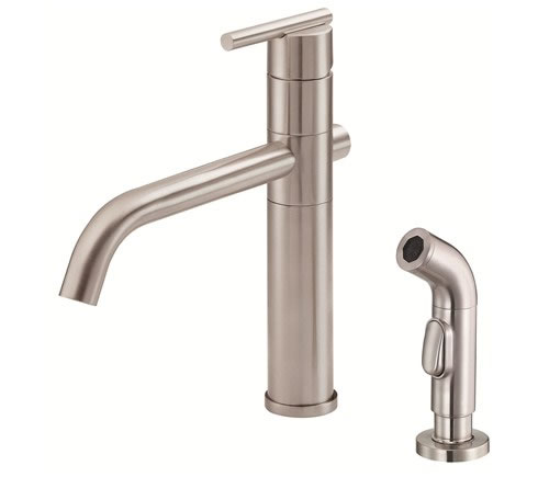 danze d405558ss danze d454612 stainless steel single handle kitchen faucet