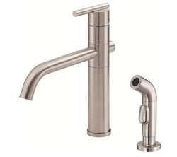 Danze D405558SS - Parma Single Handle Kit Lever Handle with Spray - Stainless Steel