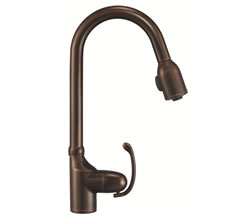 Danze D454520BR - Anu Single Handle Kit, Pull Down Spout - Tumbled Bronze
