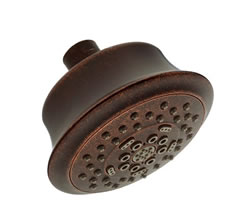 Danze D460023BR - 525 5F Showerhead, 2.5 gpm - Tumbled Bronze