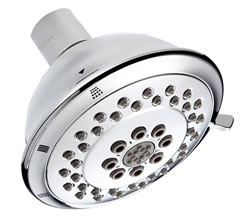 Danze D460046 - 513D 3F Showerhead, max flow rate 1.75 gpm - Polished Chrome