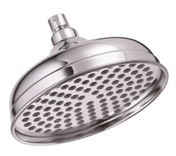 Danze D461192 - 8-inch Antique Bell Showerhead - Polished Chrome