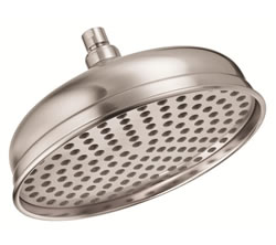Danze D461193BN - 10-inch Antique Bell Showerhead - Tumbled Bronzeushed Nickel