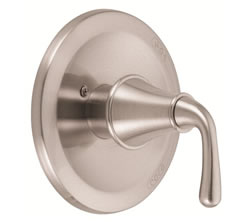 Danze D500456BNT - Bannockburn Single Handle Pressure Balance Mixing Valve Only, TRIM Kit Lever Handle - Tumbled Bronzeushed Nickel