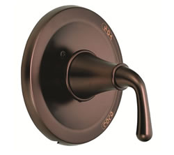 Danze D500456RBT - Bannockburn Single Handle Pressure Balance Mixing Valve Only, TRIM Kit Lever Handle - Oil Rubbed Bronze
