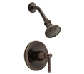 Danze D500515BRT - Eastham Single Handle Shower trim - Tumbled Bronze