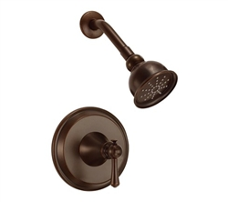 Danze D500526BRT - Cape Anne Single Handle TRIM Shower Only , Lever Handle - Tumbled Bronze