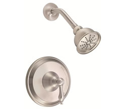 Danze D500540BNT - Fairmont Single Handle TRIM Shower Only Lever Handle  - Tumbled Bronzeushed Nickel