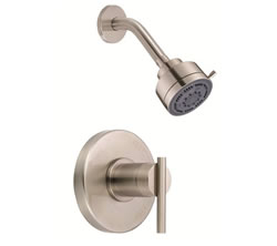 Danze D500558BNT - Parma Single Handle TRIM Shower Only Lever Handle  - Tumbled Bronzeushed Nickel