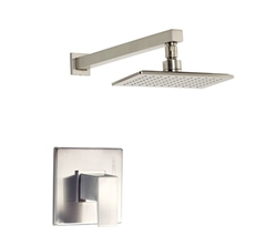 Danze D500562BNT - Mid-Town Single Handle TRIM Shower Only , Lever Handle - Tumbled Bronzeushed Nickel