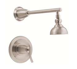 Danze D504554BNT - Sonora Single Handle TRIM Shower Only Lever Handle - Tumbled Bronzeushed Nickel
