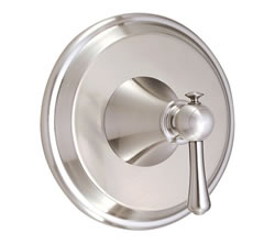 Danze D510426BNT - Cape Anne Single Handle TRIM Valve Only , Lever Handle - Tumbled Bronzeushed Nickel