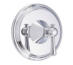 Danze D510426T - Cape Anne Single Handle TRIM Valve Only , Lever Handle - Polished Chrome