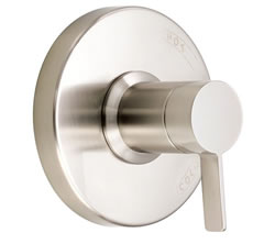Danze D510430BNT - Amalfi Single Handle Pressure Balance Mixing Valve Only TRIM Kit Lever Handle - Tumbled Bronzeushed Nickel