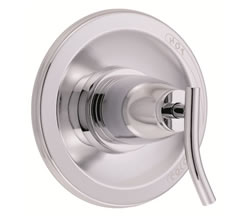 Danze D510454T - Sonora Single Handle Pressure Balance Mixing Valve Only TRIM Kit Lever Handle - Polished Chrome