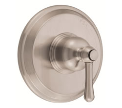 Danze D510457BNT - Opulence Single Handle Pressure Balance Mixing Valve Only TRIM Kit Lever Handle - Tumbled Bronzeushed Nickel