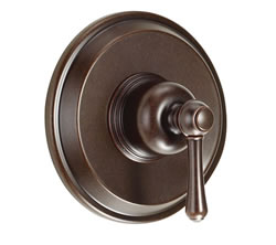 Danze D510457BRT - Opulence Single Handle Pressure Balance Mixing Valve Only TRIM Kit Lever Handle - Tumbled Bronze